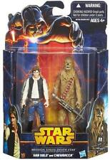 Star Wars Mission Series: Death Star HAN SOLO AND CHEWBACCA Action Figure Pack