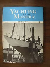 VINTAGE THE YACHTING MONTHLY MAGAZINE MARCH 1958