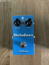 fulltone octafuzz fuzz pedal comes with a box
