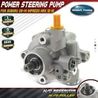Power Steering Pump w/o Pulley for Subaru Impreza WRX WRX STI H4 2.5L 34430FG040