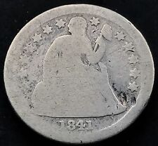 1841 O Seated Liberty Dime 10c nice RARE Early Date New Orleans #5295