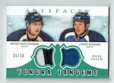 12-13 UD Artifacts  Kevin Shattenkirk--Chris Stewart  /36  Dual Patches