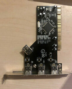 SYBA 4 port Firewire PCI card NEC Chipset SD-NEC-4F