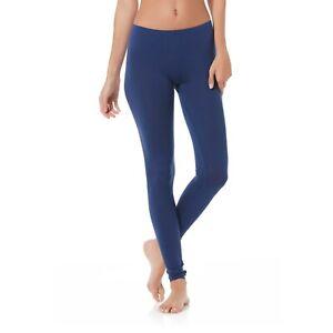 HeatLite Women's Plus Thermal Base Layer Leggings Legging Blue or Black