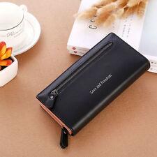 Women Ladies Clutch Leather Wallet Long Card Holder Phone Bag Case Purse Handbag