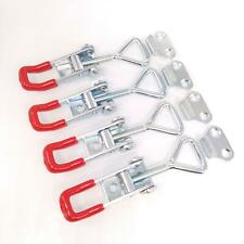 4pcs Gh 4001 Quick Toggle Clamp Clip 100kg 220lbs Holding Metal Latch Hand Tool