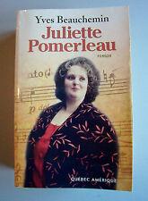 Juliette Pomerleau par Yves Beauchemin (1994, Couv. Souple large