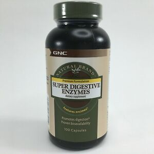 GNC Natural Brand Super Digestive Enzymes 100 Capsules