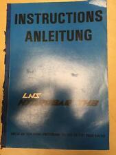 Operator Maintenance Manual for the LNS Hydrobar THB Bar Feed~ Original