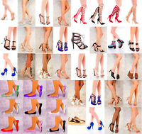 Lot 30 Pairs New Wholesale Women High Heels Platform Pumps Sandals Shoes