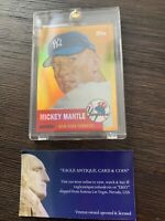 2008 Topps Chrome Gold Commemorative NY Yankees Mickey Mantle MMR53 (1953 #82)