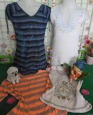 vêtements occasion fille 10 ans,tunique,débardeur,tee-shirt