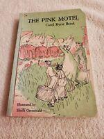 The Pink Motel Carol Ryrie Brink MacMillan 1959-1964 6D Vintage Paperback Book