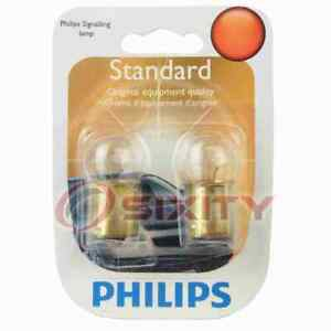 Philips License Plate Light Bulb for Simca 1118 1204 1969-1971 Electrical gy