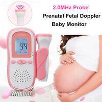 Pränatale B Fetal Doppler Baby Herzschlag FHR Monitor Schwangerschaft Gerät DE