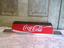 Vintage Coca-Cola Coca Cola Lighted Coke Soda Fountain Machine Topper light Sign
