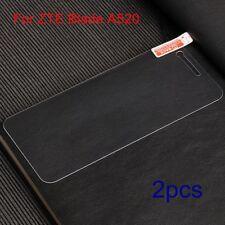 2xFor ZTE Blade A520 Anti-Fingerprint Tempered Glass Screen Protector Guard Film