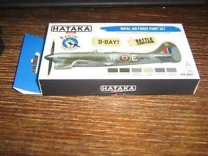 HATAKA ACRYLIC PAINT SET- WW2 RAF PAINT SET