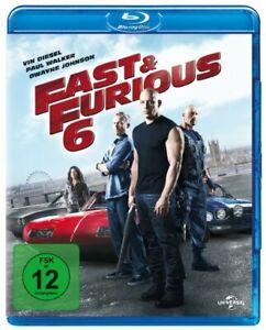 Fast & Furious 6 (Blu-ray) Vin Diesel - Dwayne Johnson * NEU & OVP