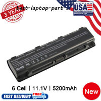 New 6cell Laptop Battery for TOSHIBA PA5023U-1BRS, PA5024U-1BRS PA5110U-1BRS US