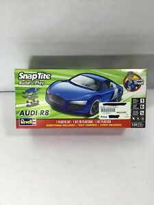 Revell SnapTite Build & Play Audi R8 Plastic Toy Car Kit 1:24 Ages 6+ NEW *READ*