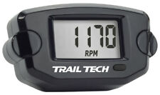 TRAIL TECH TTO TACH HOUR METER BLACK 742-A00