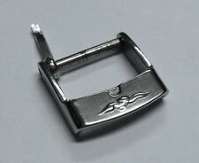 Fibbia vintage acciaio SECTOR 14 mm-Original Vintage Buckle SECTOR Steel  14 mm