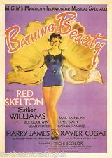 Postcard: Vintage Movie Posters - Bathing Beauty (2014)