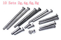 SALE 10Set 2 4 6 8g Golf Lead Plug Weight for Tip Graphite Wood Iron Shaft Clubs
