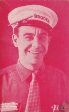 """JOHNNY  HINES """" all aboard """"- HOLLYWOOD silent MOVIE 1920s arcade/exhibit card"""