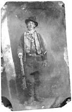Billy The Kid Famous Historical 3 Million Dollar tintype (Light) C711RP