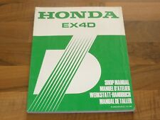 HONDA EX4D Generator Stromerzeug...