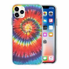 For Apple iPhone 11 PRO MAX Silicone Case Retro Tie Dye - S6368