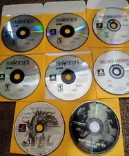 Play Station  Final Fantasy Game Lot: ff IX 9, origins(1,2), anthology(5, 6)ps1