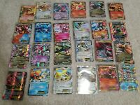 100 Pokemon Card Lot Guaranteed 2 EX/GX/V (ultra rare) CARDS!!! TCG POKEMON