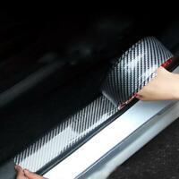 Carbon Fiber Car Moulding Trim Protector Universal Bumper Strip 2M 5CM