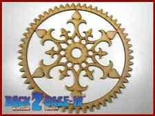 Steampunk Cogs Gears Wheel Laser Cut MDF Decorative Accessory 200mm x 3mm COG4