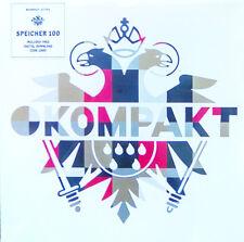 "Kompakt Extra - Speicher 100 / 2x12"" LP Vinyl + Downloadcode STILL SEALED NEW"