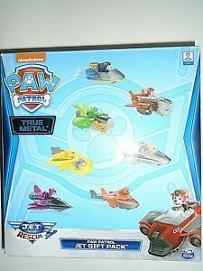 """Nickelodeon Paw Patrol True Metal Jet Gift Pack - Jet to the Rescue """"NEW"""""""