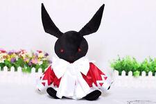 Pandora Hearts Alice B-Rabbit Oz vessalius black rabbit plush doll cosplay prop
