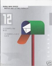 Canada 2000 Rural Mailboxes Complete Booklet (12 x 46¢) BK226a  - CV $14.00