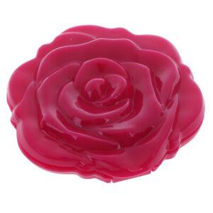 New 3D Rose Flower Compact Mini Cute Make Up Mirror Design Unique Gif AJ