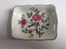 James Kent Old Foley Chinese Rose trinket tray