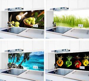 Küchenrückwand hochglanz 1000 Motive Acrylglas Spritzschutz Fliesenspiegel #3657