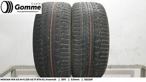 Pneumatici Gomme Usate NOKIAN WR A3 M+S 235 45 17 97H XL Invernali