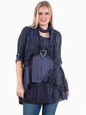 Vestiti da donna blu acrilico