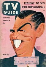 1959 TV Guide January 10 - Jack Webb; Milton Berle; Huckleberry Hound; J Cooper