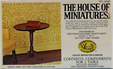The House of Miniatures 1:12 Quess Anne Tilt-Top Table Model Kit #40008