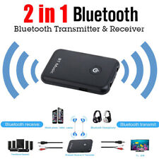 2 In 1 Bluetooth Transmitter Receiver Wireless 3.5mm Stereo Audio Music Adapter