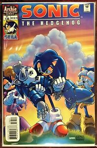 SONIC The HEDGEHOG Comic Book #136 July 2004 KNUCKLES & JULIE SU Bagged NM+